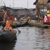 Makoko, Lagos: Microcredit is helping women take advantage of entrepreneurial opportunities. Credit:  Sarah Simpson/IRIN