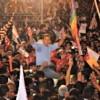 Ollanta Humala at end-of-campaign rally in Lima.  Credit: Gana Perú Campaign
