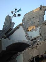A destroyed mosque in Gaza. Credit: Eva Bartlett/IPS.