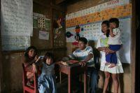 UNIA student Carlos Mashian and family. Credit: