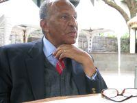 Opposition leader Bulcha Demeksa says a genuine dictatorship is evolving in Ethiopia Credit: Hilary Wallis/IPS