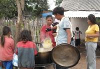 Cerro Poty soup kitchen. Credit: Natalia Ruiz Díaz/IPS