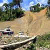 Construction of Camisea gas pipeline in Peru. Credit: Adam Goldstein/Amazon Watch