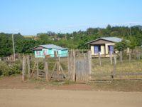 Mapuche homes in Temucuicui. Credit: IPS/Daniela Estrada.