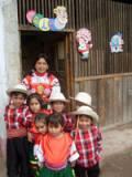 Students and teachers at the community-run school in Alto Palomar, Peru. Credit: Milza Hinostroza/IPS.