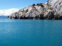 General Carrera Lake in Chile.  Credit: Public Domain