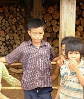 Jarai children  Credit: Andrew Nette/IPS