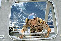UNIFIL patrol ship, May 2007.  Credit: UN Photo/Jorge Aramburu