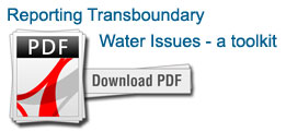 Reporting Transboundary Water Issues - a toolkit