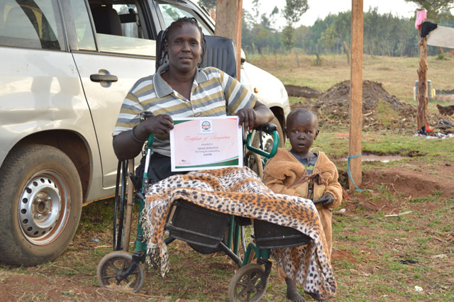 Dank 'Table Banking' hat es Irene Tuwei aus dem Rift Valley in Kenia zu bescheidenem Wohlstand gebracht (Bild: Miriam Gathigah/IPS).