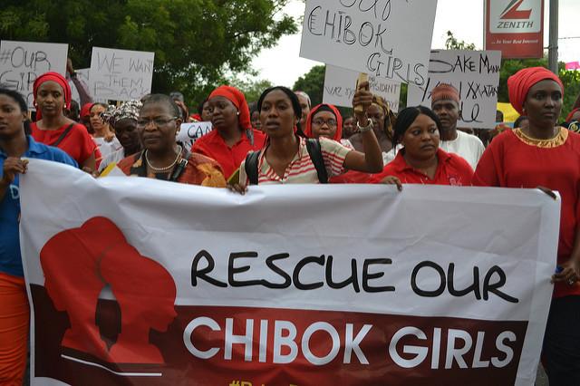 Im April 2014 wurden in Chibok 276 Schulmädchen von Boko Haram entführt. Heute ist der Verbleib von 176 Mädchen immer noch ungewiss. (Bild: Mohammed Lere/IPS)