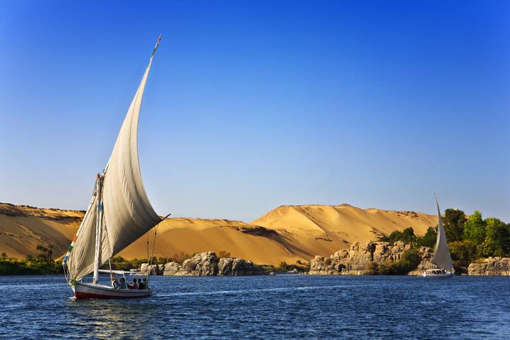 Ägypten ist auf das Nilwasser angewiesen. Doch andere Anrainerstaaten verlangen mehr Nutzungsrechte. (Bild: Shutterstock.com)
