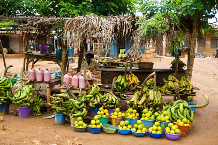 Marktstand im Bundesstaat Ondo (Bildrechte: Jordi C, Shutterstock.com)