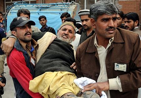 War-disabled Pakistanis await rehabilitation. - Ashfaq Yusufzai/IPS