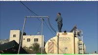 Water supply for the Bedouin village. - Pierre Klochendler/IPS.