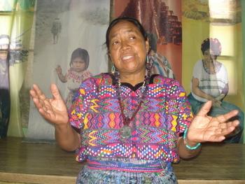 Guatemalan indigenous leader Rosalina Tuyuc.  - Danilo Valladares/IPS