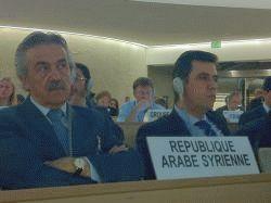 Syrian ambassador Faysal Khabbas Hamoui.  - Isolda Agazzi/IPS
