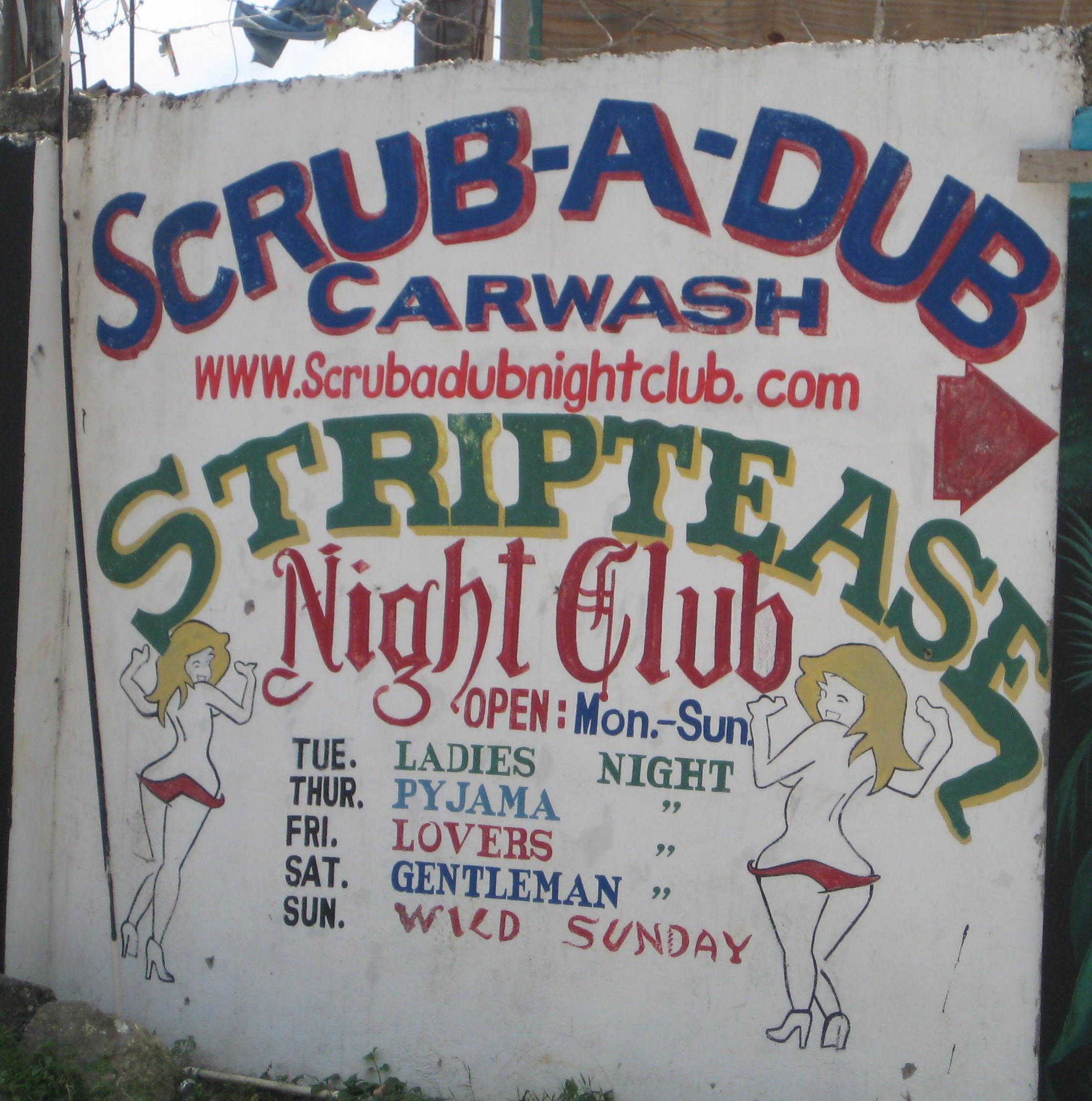 Negril strip clubs