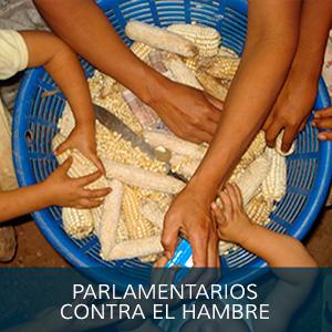 PARLAMENTARIOS CONTRA EL HAMBRE
